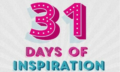 graphic: 31 days of inspiration