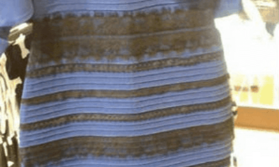 Is it a blue or a gold dress