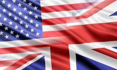 blend of UK and USA flags