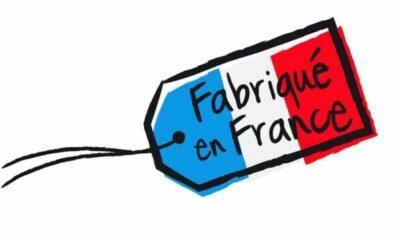fabrique en France illustrated label