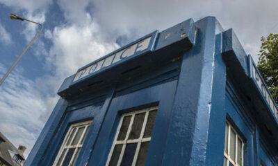 old uk police phonebox